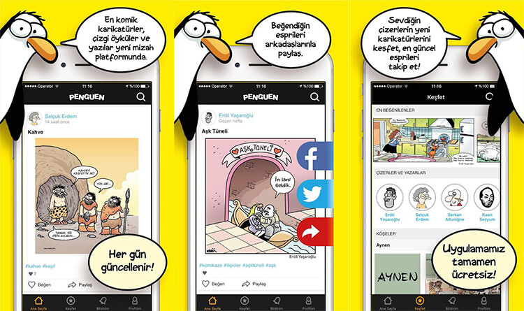 penguenden-mobil-uygulama