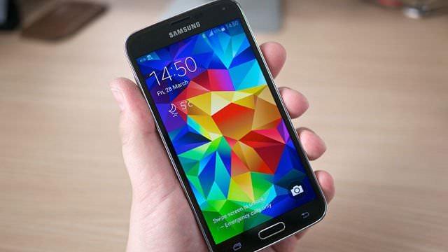 samsung galaxy s5 için android 5.0 güncellemesi